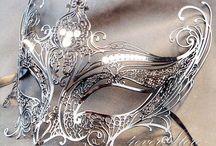šperkove masky