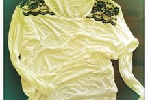 Spitzen Tshirt / DIY