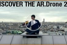 quadricopter- AR.Drone 2.0 Parrot new wi-fi quadricopter
