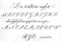 Calligrafia inglese