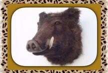 animal head mounts