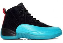 Jordan 12 gamma blue / The Air Jordan 12 was released in 1996-97 and were the first Air Jordan shoes in the Jordan Brand line. http://www.theblueretros.com/  / by Cheap Jordan 9 barons, barons 9 online sale