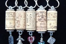 Cork Key Rings