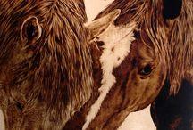 Pyrografie malování na dřevo pájkou