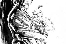 'Lone Wolf and Cub:子連れ狼:Kozure Ōkami, Wolf taking along his child'