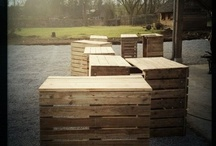Pallets / Creative Ideas for using pallets / by Lori Barth