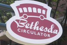Bethesda Circulator / Take the FREE way around Bethesda, MD. Ride the Circulator!