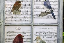 sheet music art