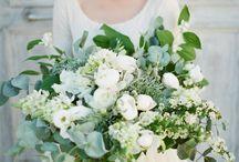 Flotte blomsterbuketter