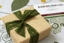 Eco friendly jewelry packaging by Papermelon / How I pack my jewelry using eco friendly materials, that only adds to the charm of it..
