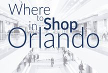Shopping in Orlando / Not sure where's best to shop in #Orlando ? Take a look and find out more