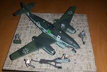 Messerschmitt Me 262   1/72 / Modellbausatz Me 262  1/72  von Revell