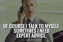 Suits / Beware Harvey Specter is my lawyer