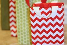 Gift & treat bags | sewing patterns