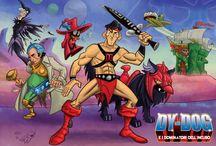 Mash up / Cartoon, Comics & Toys Amalgama