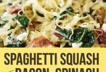 Spaghetti Squash, Zucchini & Cauliflower Low Carb Love