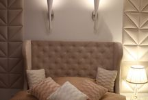 interior design / Interior design bedroom, babyroom and more. Decorative panel walls.
