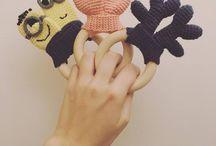 crochet baby bidering