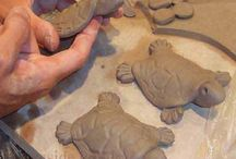 Clay playful and whimsical