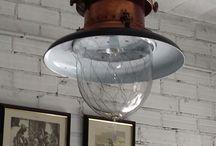 Iluminación / Muchos artículos para iluminar tu hogar. Antiguos, vintage modernos, segundamano, grandisímos, estilo marinero, etc