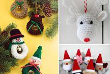 Xmas ornaments crochet