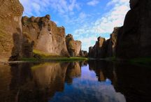Stunning canyons of Iceland / Witness some of the breathtaking canyons of the world in Iceland!