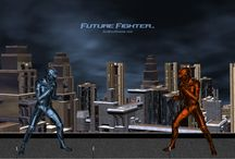 Future Fighter Game Screenshots / Screenshots of the characters from the sci-fi fighting game, Future Fighter (TM). Follow and download the screenshots at http://docbrockgames.com/post_list.php?Post=Screenshots