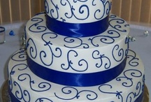 MY GIRLS: Shanna's Events: Blue & Orange Wedding / designing an inexpensive blue & orange wedding / by Le Derby