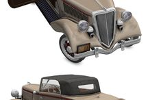 Vehicles / Vehicles I modelled in wings3d