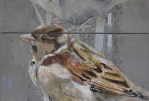 Fine Art Birds / Paintings and prints of our feathered friends...