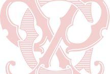 Victorian Monograms