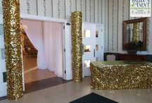 Homecoming Dance - Gold Balloon Decor / Homecoming Dance - Gold Balloon Decor