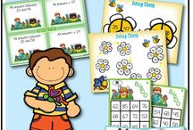 Teaching Trove Resources / Looking for teaching resources, printables, math games, literacy games, freebies and centers for kindergarten, first, second and third grade? You can find teaching resources here.