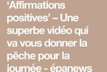 Pensée positif