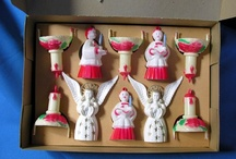 Vintage Holiday Plastics