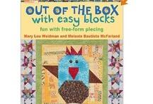 Quilt/craft books / by Kathy Klobucher