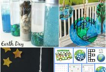 Earth Day Activities for Preschoolers / Let's celebrate Earth Day with our preschoolers! Let's have some fun with all of the ideas, tips, tricks, and Earth Day activities that I've compiled. Looking for more family fun ideas, follow me here and at HomeschoolPreschool.net .