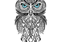Tatoo owl
