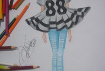 croquis / meu desenhos de moda e customizações marca Moda Monteiro MM
