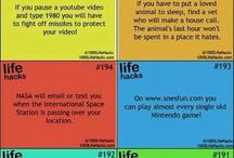 Life hacks!!!! / by Candace Perdue