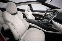 Car Interior / Inspirações de interiores automotivos