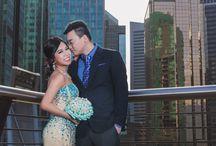 Vancouver Pre-Wedding Photo / Just some photos taken by SIM Wedding Studio.
