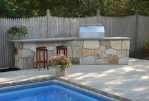 Outdoor deck / by Beth Jacobs-Grimes