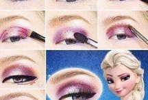 maquillage Elsa