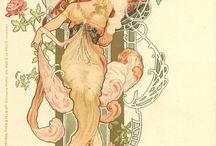 Mucha design / Alfonso Mucha art and design inspiration