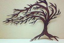 ağaç şablon