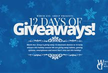 12 Days of Giveaways 2015! / 12 days of amazing giveaways!