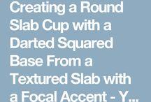 Darted mug