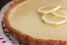 tartas de limón