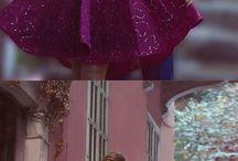 Rochii violet domnișoară de onoare